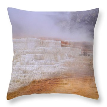 Yellowstone Magic Throw Pillow