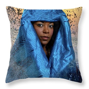 Yemaya Throw Pillow