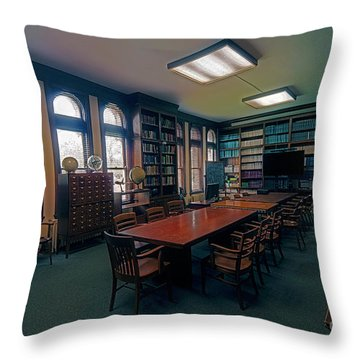 Throw Pillow featuring the photograph Yerkes Observatory, Williams Bay Study by Tom Jelen