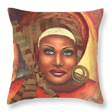 Yes . . . One Woman Can . . .  Throw Pillow