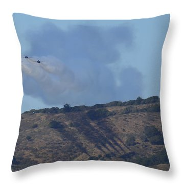 Yes Baby, Angels Do Make Shadows Throw Pillow