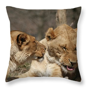 Yes Dear Throw Pillow