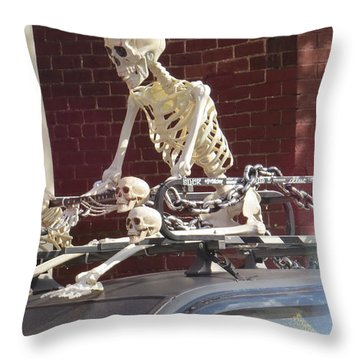 Yes It Is Halloween Throw Pillow