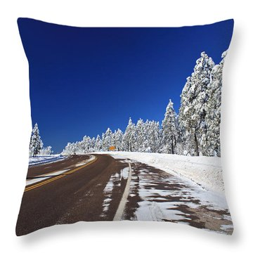 Yes Its Arizona Throw Pillow