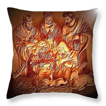 Yeshu'a  Throw Pillow