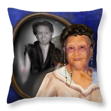 Yester-me Yester-you Yesterday Throw Pillow by Reggie Duffie