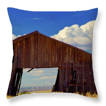 Yesterday And Today Throw Pillow