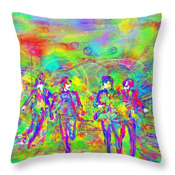 Yesterday Throw Pillow