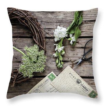 Throw Pillow featuring the photograph Yesterdays Treasure by Kim Hojnacki