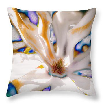 Yet Another Magnolia Throw Pillow
