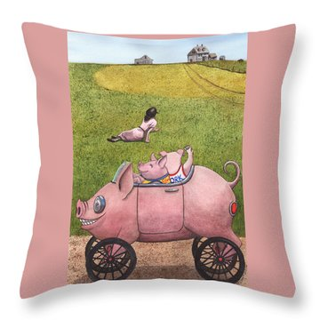 Yo, Christina Throw Pillow