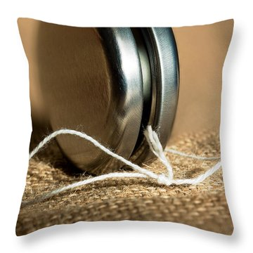 Yo Yo Throw Pillow