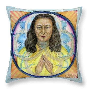 Yogananda Throw Pillow