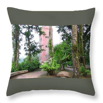 Yokahu Observation Tower Throw Pillow