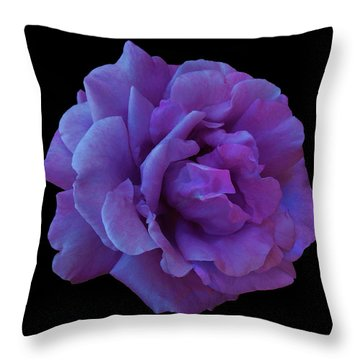 Throw Pillow featuring the photograph Yolanda by Mark Blauhoefer