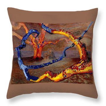 Yolande's Great Oak Throw Pillow