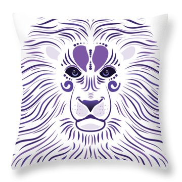 Yoni The Lion - Light Throw Pillow