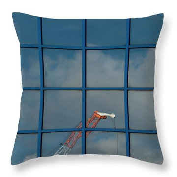 Yorkshire Windows 14 Throw Pillow