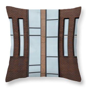 Yorkshire Windows 2 Throw Pillow