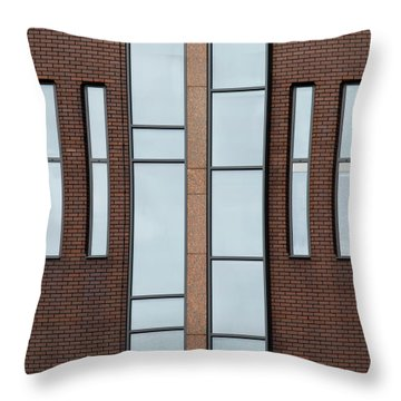 Yorkshire Windows 2 Throw Pillow