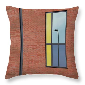 Yorkshire Windows 4 Throw Pillow