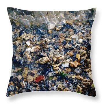 Yorktown Beach  Throw Pillow
