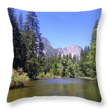 Yosemite Lifestyle Throw Pillow