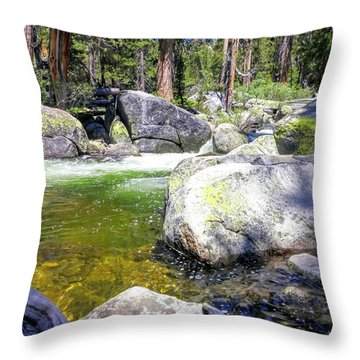 Yosemite Alive Throw Pillow