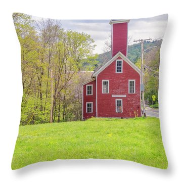 Yosemite Engine Company II Throw Pillow