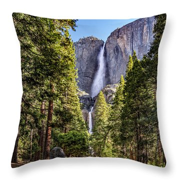 Yosemite Falls 4.0 Throw Pillow
