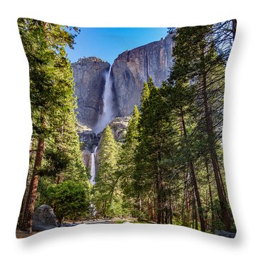 Yosemite Falls V3.0 Throw Pillow
