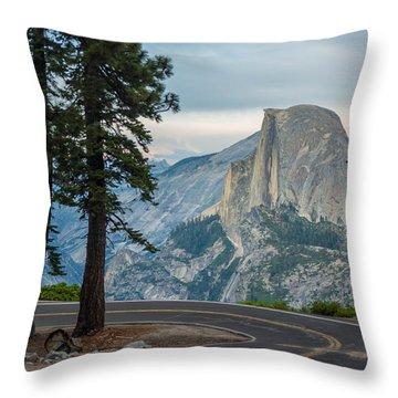 Yosemite Glacier Point Throw Pillow