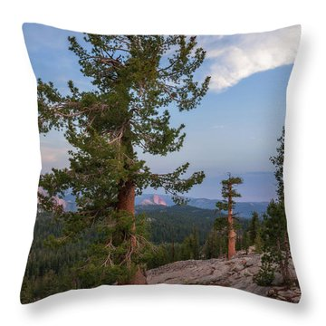 Half Dome From May Lake Throw Pillow