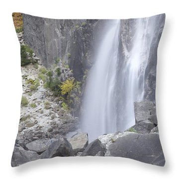 Yosemite Throw Pillow by Matthew Bamberg