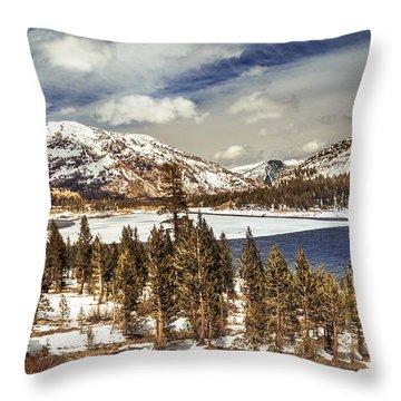 Yosemite Melts Into Spring Throw Pillow