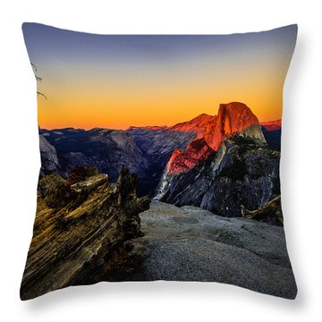 Yosemite Half Dome Throw Pillows