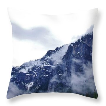Throw Pillow featuring the photograph Yosemite by Phyllis Spoor