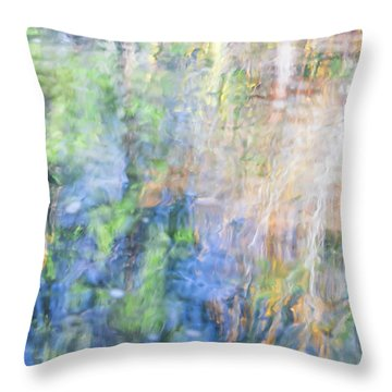 Yosemite Reflections 4 Throw Pillow