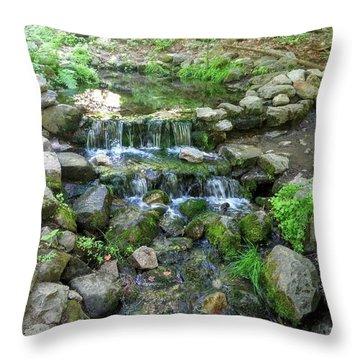 Yosemite Stream Throw Pillow