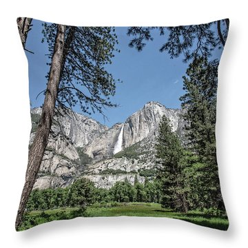 Yosemite View 13 Throw Pillow