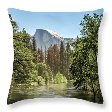 One Valley View Throw Pillow