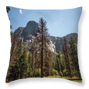 Yosemite View 18 Throw Pillow