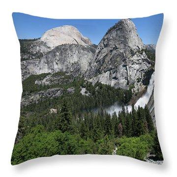 Yosemite View 30 Throw Pillow by Ryan Weddle