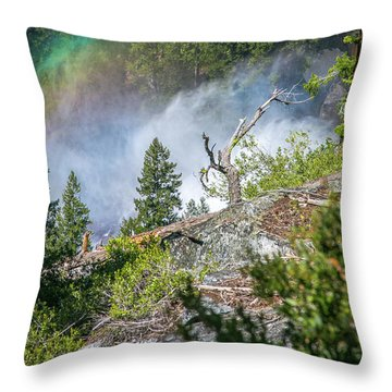 Stroll Passed Nevada Throw Pillow
