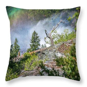 Stroll Passed Nevada Throw Pillow