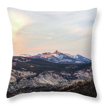 Yosemite View Throw Pillow