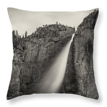 Yosemite Waterfall #2  Throw Pillow