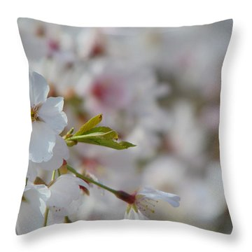 Yoshino Blooms Throw Pillow