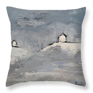 You And I Throw Pillow by Becky Kim