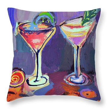 You And I, Let's Go Out Throw Pillow by Amara Dacer